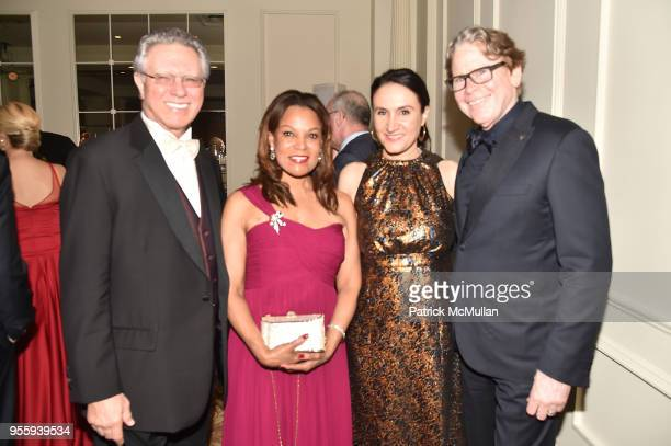 Richard Williamson guest Michelle Dizard and Stephen Dizard attend the Ballet Hispanico 2018 Carnaval Gala at The Plaza Hotel on May 7 2018 in New...