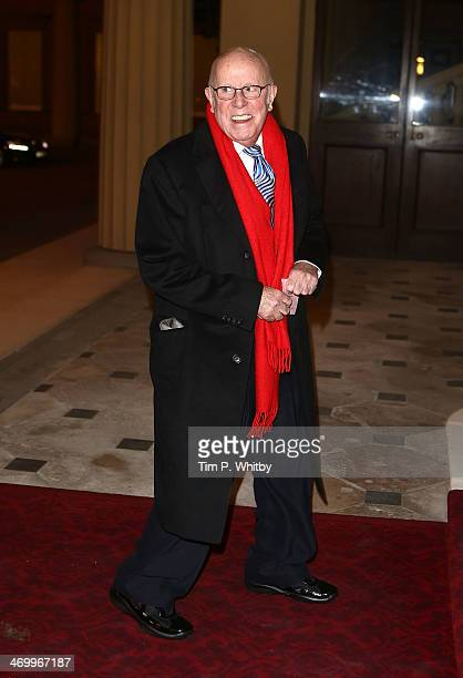 Richard Wilson attends a Dramatic Arts Reception at Buckingham Palace on February 17 2014 in London England