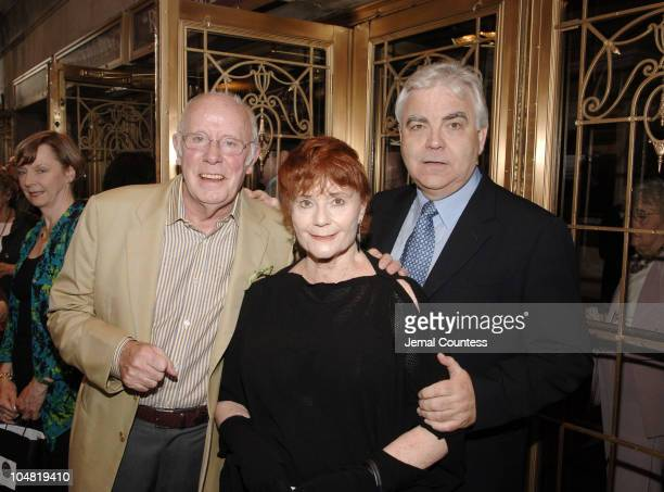 """Richard Wilson, director of """"Primo"""" with Bill Kenwright and Thelma Holt, producers of """"Primo"""""""