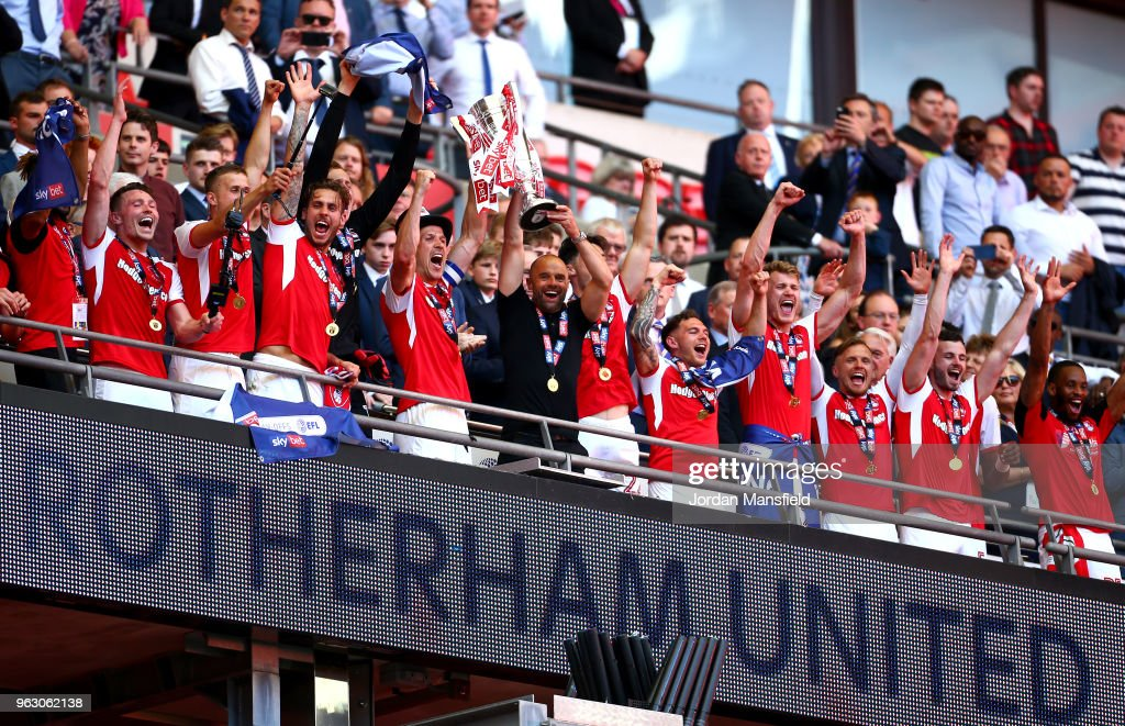 Rotherham United v Shrewsbury Town - Sky Bet League One Play Off Final : News Photo