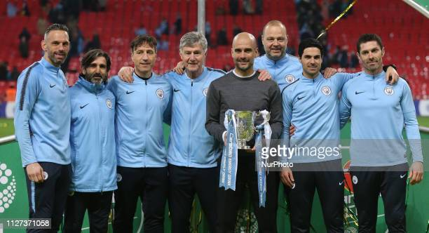 Richard Wright Goalkeeper Coach Fitness Coach Lorenzo Buenaventuro, Jose Gabello Brian Kidd Assistant Coach Manchester City manager Pep Guardiola...