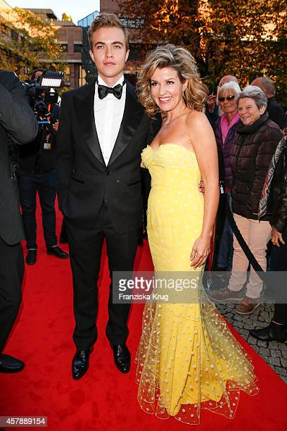 Richard Wunderlich and AnneSophie Mutter attend the ECHO Klassik 2014 on October 26 2014 in Munich Germany