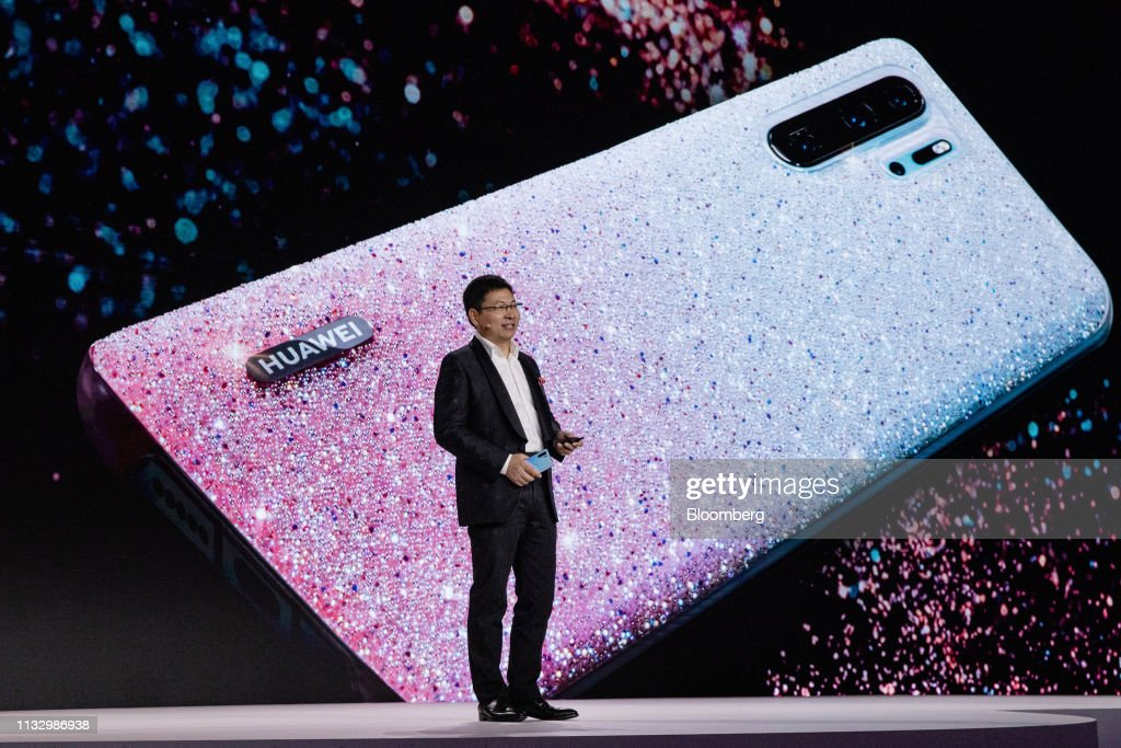 Huawei Technologies Co. Unveil P30 Flagship Smartphone : News Photo