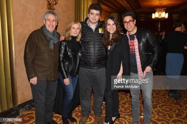 Richard Yulman Kandy Kramer Brett Yulman Katy Williamson and Gregory Williamson attend Love Rocks NYC VIP Rehearsals 2019 at Beacon Theatre on March...