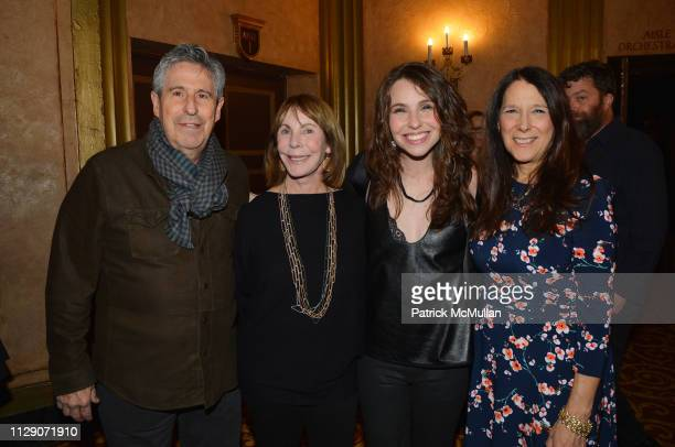 Richard Yulman Sue Chase Katy Williamson and Karen Pearl attend Love Rocks NYC VIP Rehearsals 2019 at Beacon Theatre on March 6 2019 in New York City