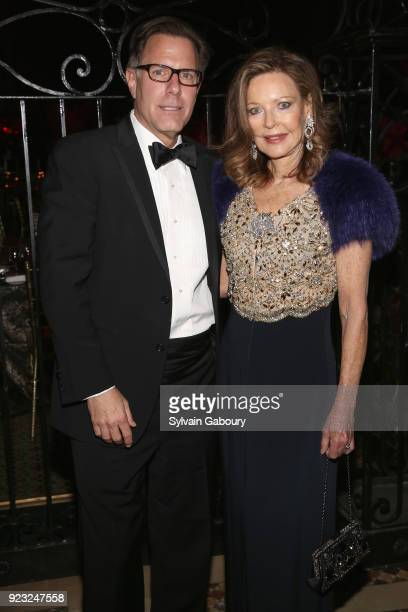 Richard Ziegelasch and Margo Langenberg attend Museum of the City of New York Winter Ball on February 22 2018 in New York City