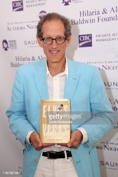 Richard Zoglin at the East Hampton Library's 15th Annual Authors Night Benefit on August 10 2019 in Amagansett New York