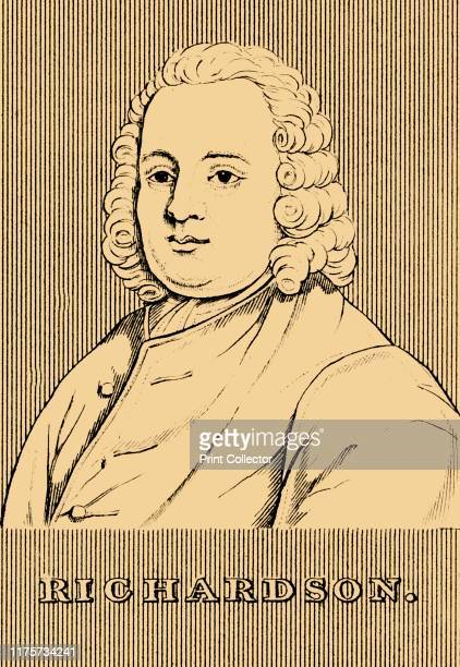 Richardson' 1830 Samuel Richardson English writer printer and publisher best known for his epistolary novels From Biographical Illustrations by...