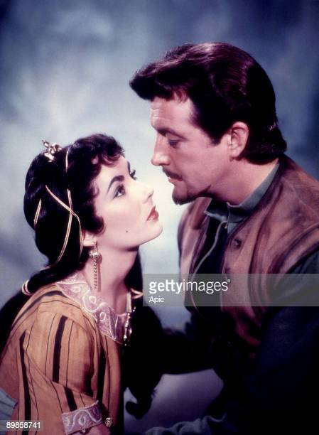 RichardThorpe of Ivanhoe with Robert Taylor Joan Fontaine Elizabeth Taylor 1952