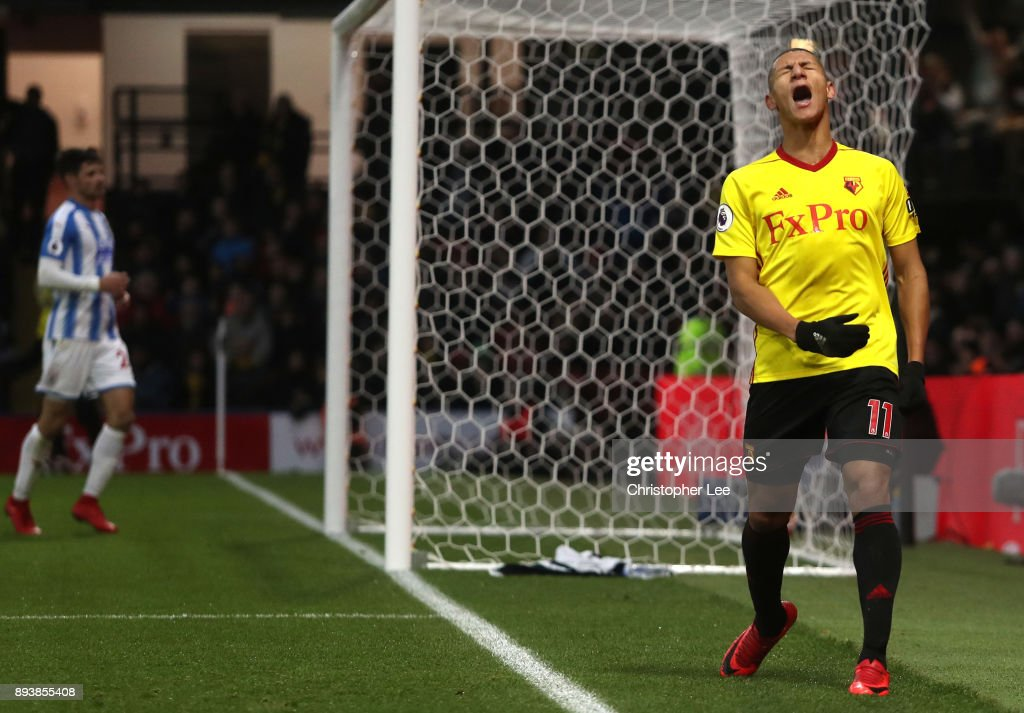 Watford v Huddersfield Town - Premier League : News Photo