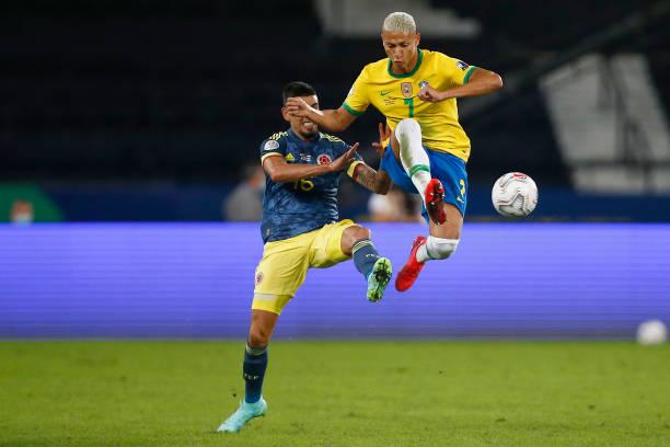 BRA: Brazil v Colombia: Group B - Copa America Brazil 2021