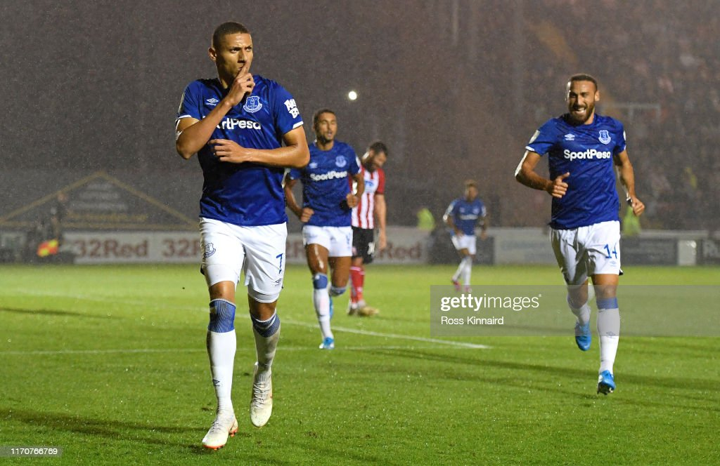 Lincoln City v Everton - Carabao Cup Second Round : News Photo