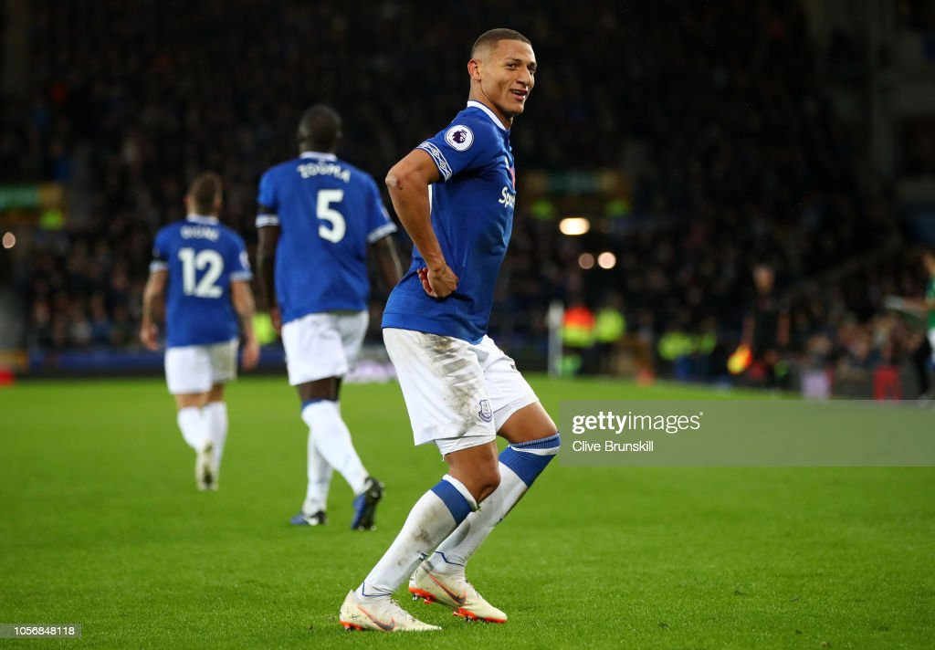 Richarlison Of Everton Celebrates After Scoring His Team S Third Goal News Photo Getty Images