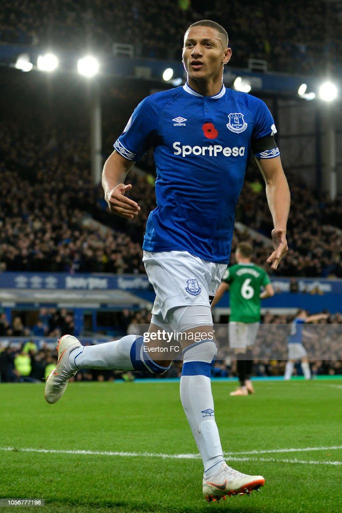 Richarlison Of Everton Celebrates His Goal During The Premier League News Photo Getty Images
