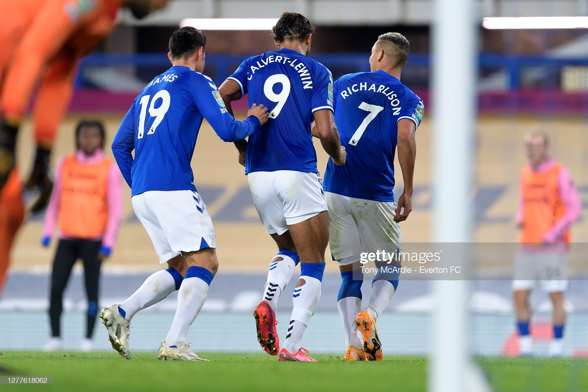 Everton v West ham United - Carabao Cup Fourth Round : News Photo