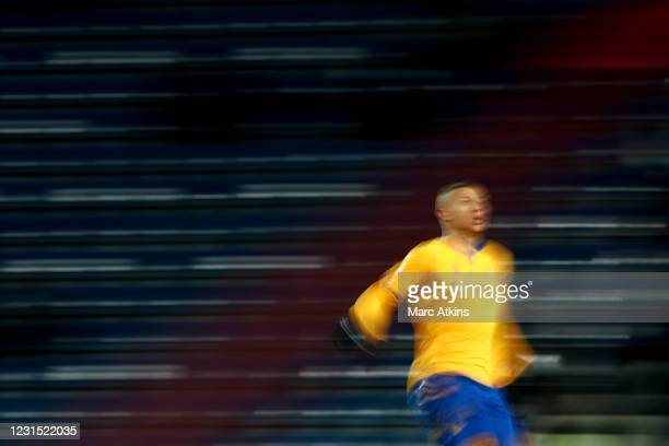Richarlison of Everton during the Premier League match between West Bromwich Albion and Everton at The Hawthorns on March 4, 2021 in West Bromwich,...