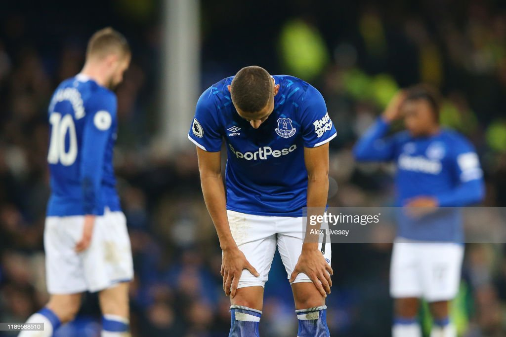 Everton FC v Norwich City - Premier League : News Photo