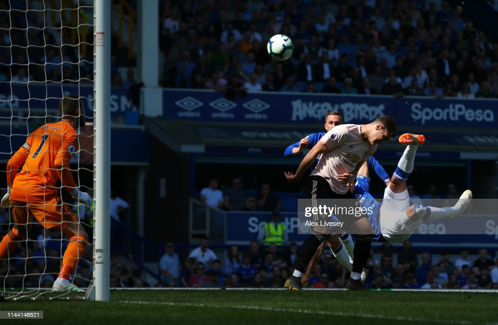 Everton FC v Manchester United - Premier League : News Photo