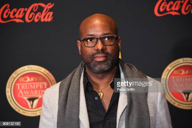 Richelieu Dennis attends the 26th Annual Trumpet Awards at Cobb Energy Performing Arts Center on January 20 2018 in Atlanta Georgia