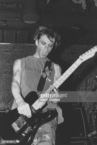 Richey Edwards of the Manic Street Preachers perform on stage London 1994