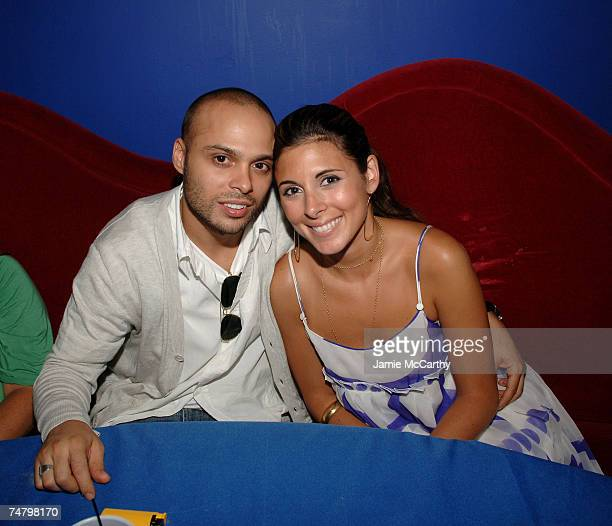 Richie Akiva and Jamie Lynn Sigler at the The Supper Club in New York City New York