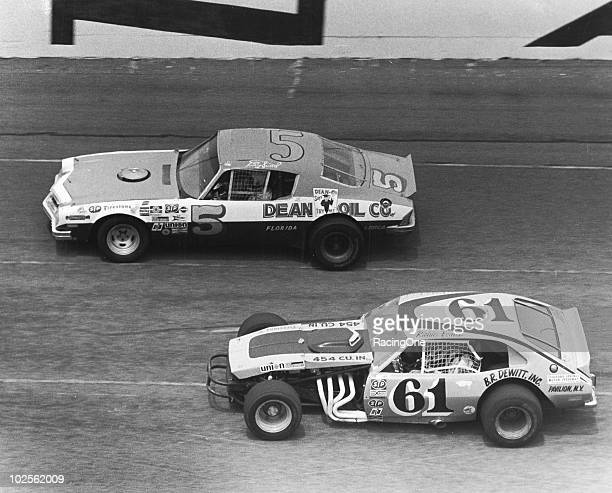 Richie Evans participated in the very first NASCAR Modified race at Daytona held on the road course and finished 14th in a Õ72 Ford Pintobodied car