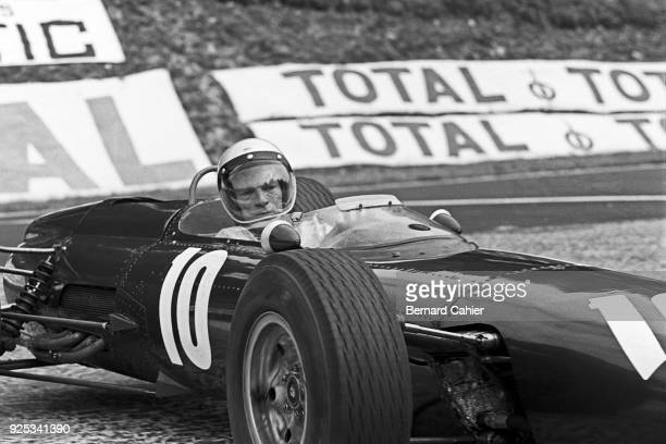 Richie Ginther BRM P261 Grand Prix of France RouenLesEssarts 28 June 1964