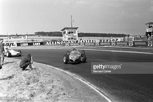 Richie Ginther Ferrari 156 Grand Prix of France ReimsGueux 02 July 1961