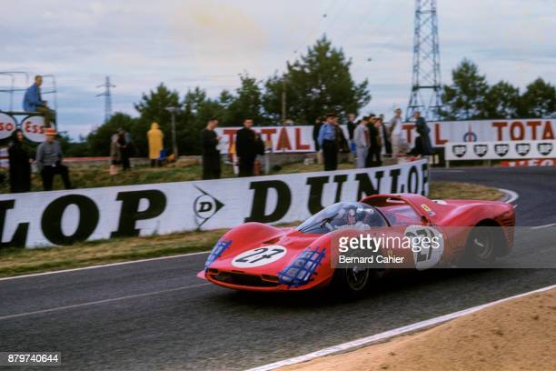Richie Ginther Ferrari 365 P2/3 24 Hours of Le Mans Le Mans 19 June 1966