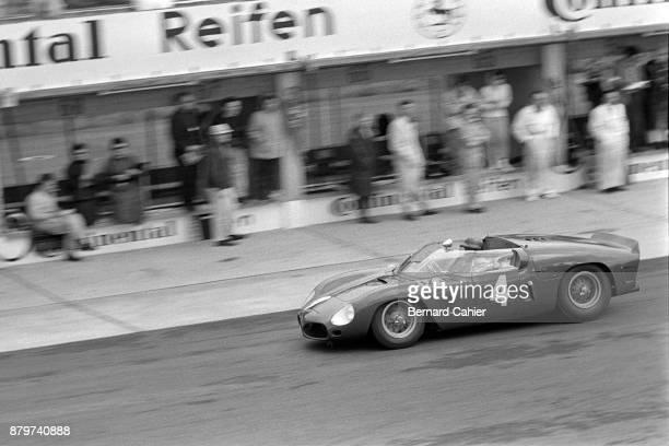 Richie Ginther Ferrari Dino 246SP 1000 Km of Nürburgring Nurburgring 28 May 1961