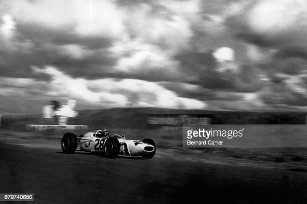 Richie Ginther, Honda RA272, Grand Prix of the United States, Watkins Glen International, 03 October 1965.