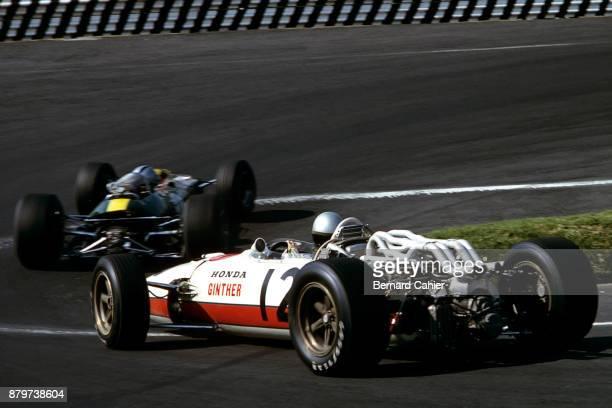Richie Ginther Honda RA273 Grand Prix of Mexico Autodromo Hermanos Rodriguez Magdalena Mixhuca 23 October 1966