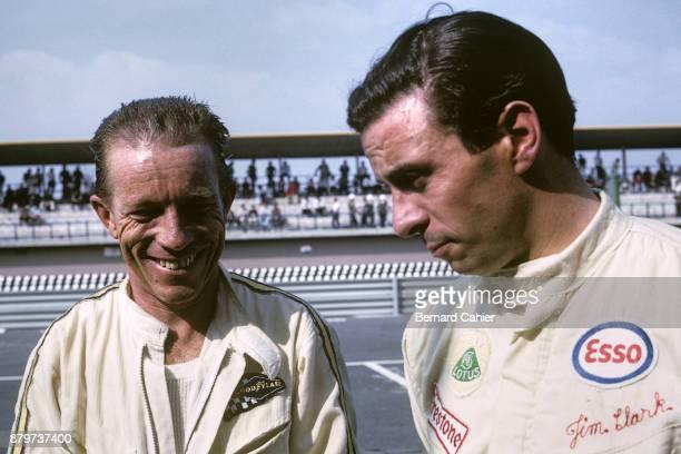 Richie Ginther Jim Clark Honda RA273 LotusBRM 33 Grand Prix of Mexico Autodromo Hermanos Rodriguez Magdalena Mixhuca 23 October 1966 Richie Ginther...