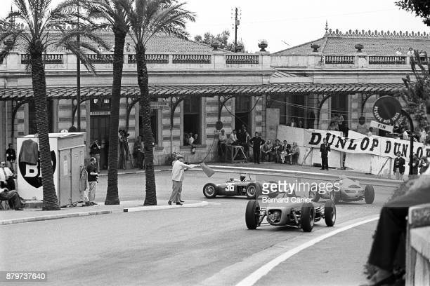 Richie Ginther Jo Bonnier Cliff Allison Ferrari 156 Porsche 787 LotusClimax 18 Grand Prix of Monaco Circuit de Monaco 14 May 1961