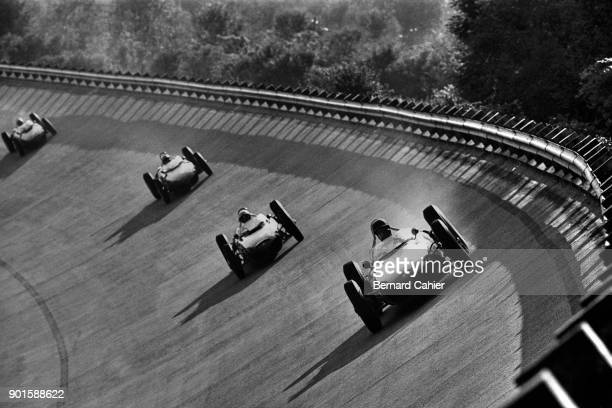 Richie Ginther Phil Hill Ricardo Rodriguez Giancarlo Baghetti Ferrari 156 Grand Prix of Italy Autodromo Nazionale Monza 10 September 1961 Richie...