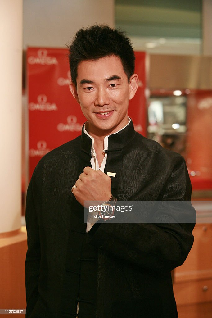 Richie Jen during Omega Watch Event With Richie Jen at C H Premiere Jewelers in Santa Clara, California, United States.