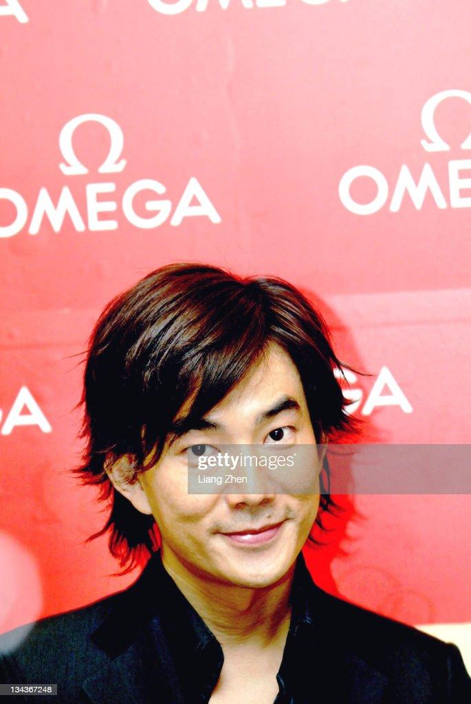 Richie Jen during Richie Jen Promotes OMEGA in Hangzhou in Hangzhou, Zhejiang, China.