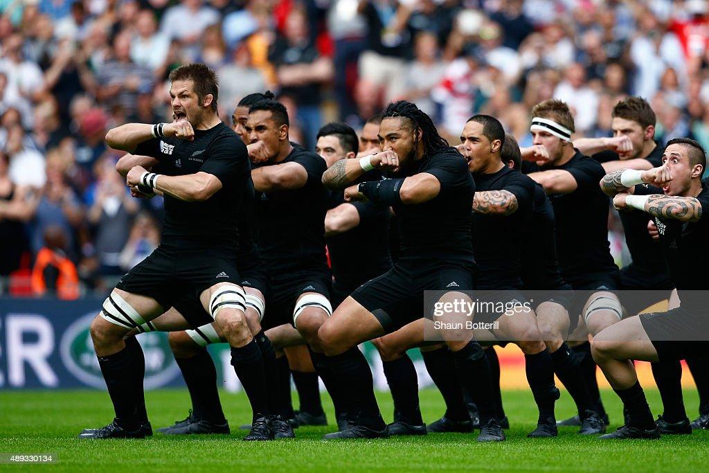 New Zealand v Argentina - Group C: Rugby World Cup 2015 : ニュース写真