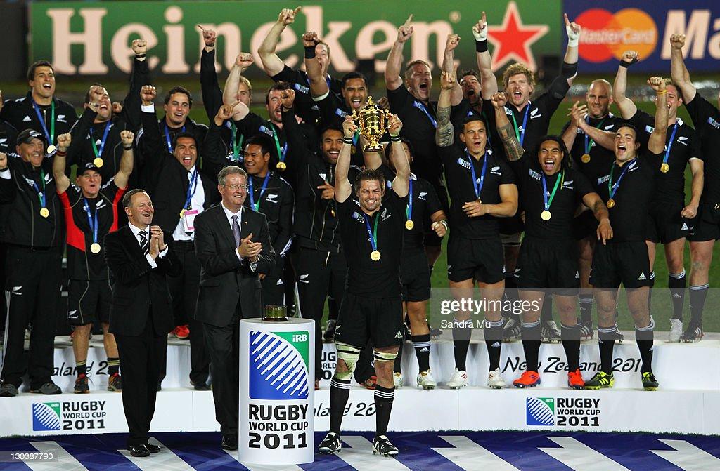 France v New Zealand - IRB RWC 2011 Final : News Photo
