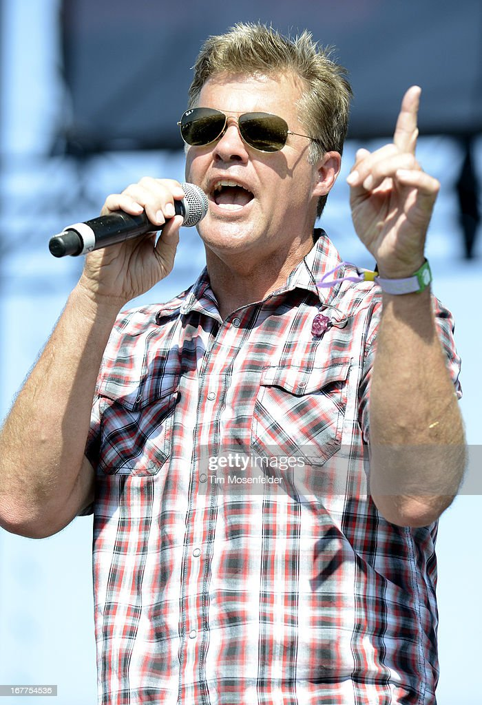 Richie McDonald of Lonestar performs as part of the Stagecoach Music Festival at the Empire Polo Grounds on April 28, 2013 in Indio, California.