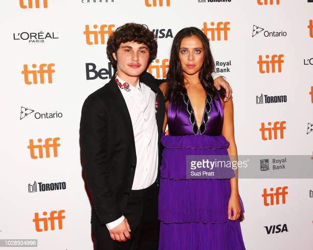 Richie Merritt and Bel Powley attend the 'White Boy Rick' premiere during 2018 Toronto International Film Festival at Ryerson Theatre on September 7...