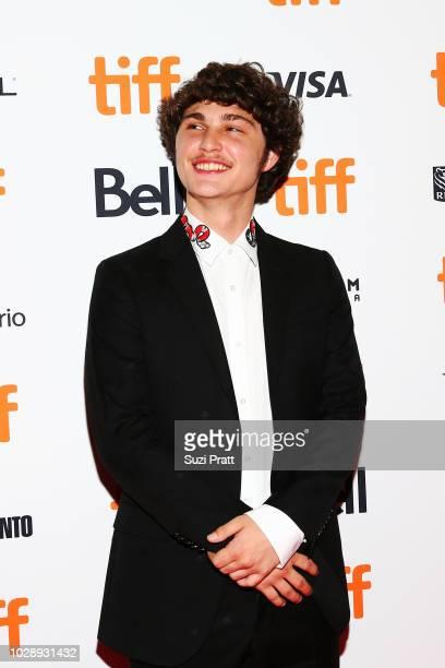 Richie Merritt attends the 'White Boy Rick' premiere during 2018 Toronto International Film Festival at Ryerson Theatre on September 7 2018 in...