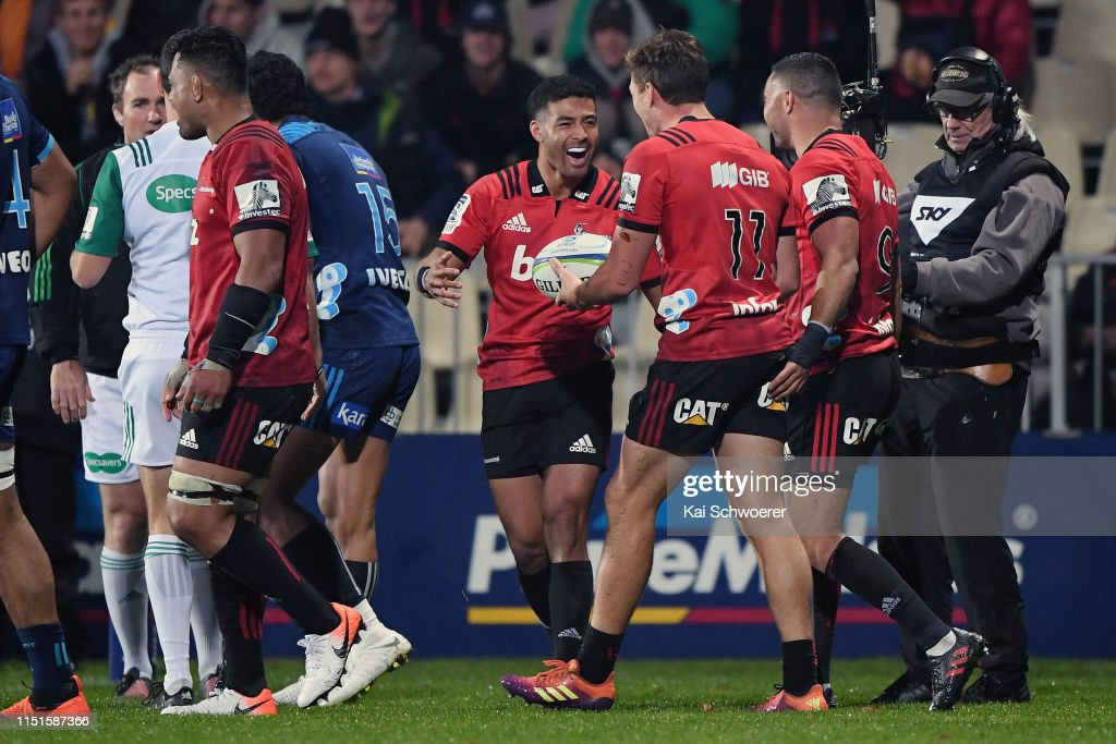 Super Rugby Rd 15 - Crusaders v Blues : News Photo