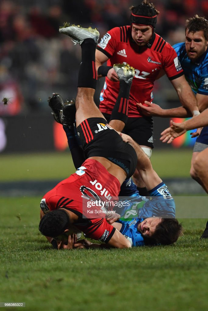 Super Rugby Rd 19 - Crusaders v Blues