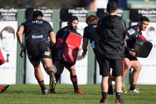 NZL: Crusaders Training Session