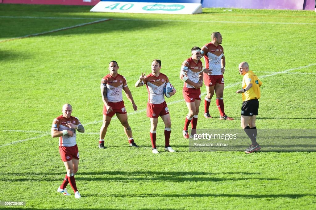 Catalans Dragons v Salford Red Devils - Betfred Super League : News Photo