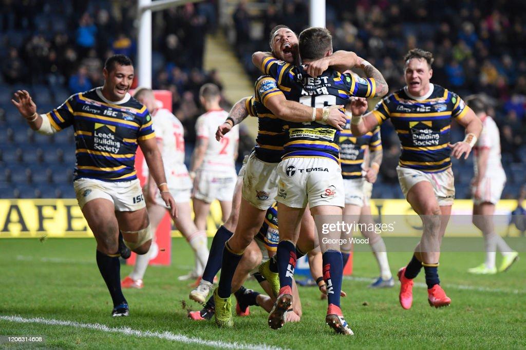 Leeds Rhinos v Hull Kingston Rovers - Betfred Super League : ニュース写真