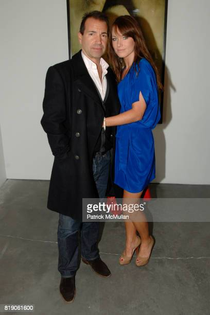 Richie Notar and Jane Notar attend Opening for SKIN FRUIT Selections from the Dakis Joannou Collection at The New Museum on March 2 2010 in New York...