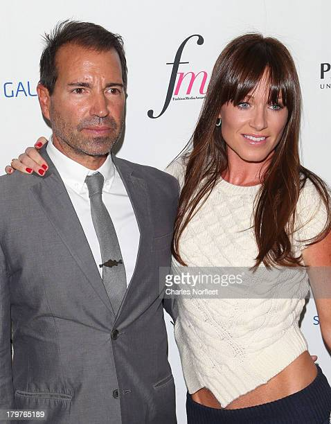 Richie Notar and Jane Notar attend the Daily Front Row's Fashion Media Awards at Harlow on September 6 2013 in New York City