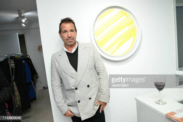 Richie Notar attends Double Vision Curated By Jane Holzer at Leila Heller Gallery on May 13 2019 in New York City